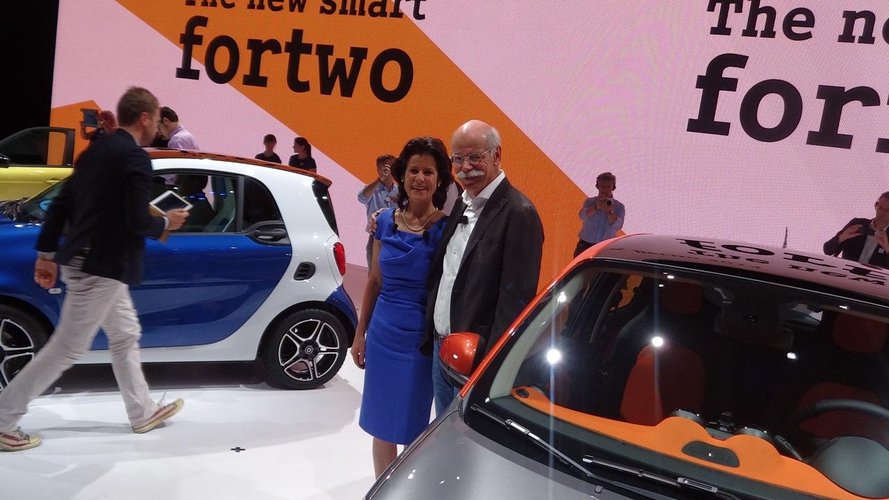 Smart ForTwo e ForFour MY 2014 - Presentazione LIVE