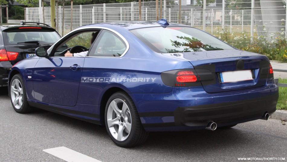 Spy shots BMW Serie-3 Coupé