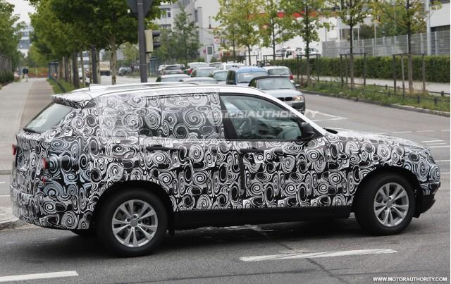 Spy shots BMW X3