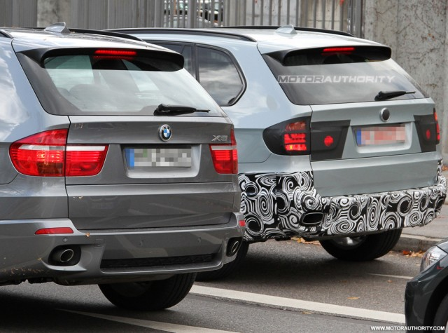 Spy shots BMW X5