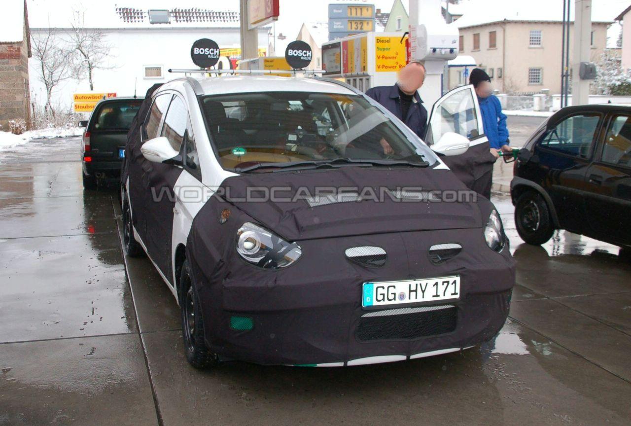 Spy Shots Hyundai HED-5 I-Mode