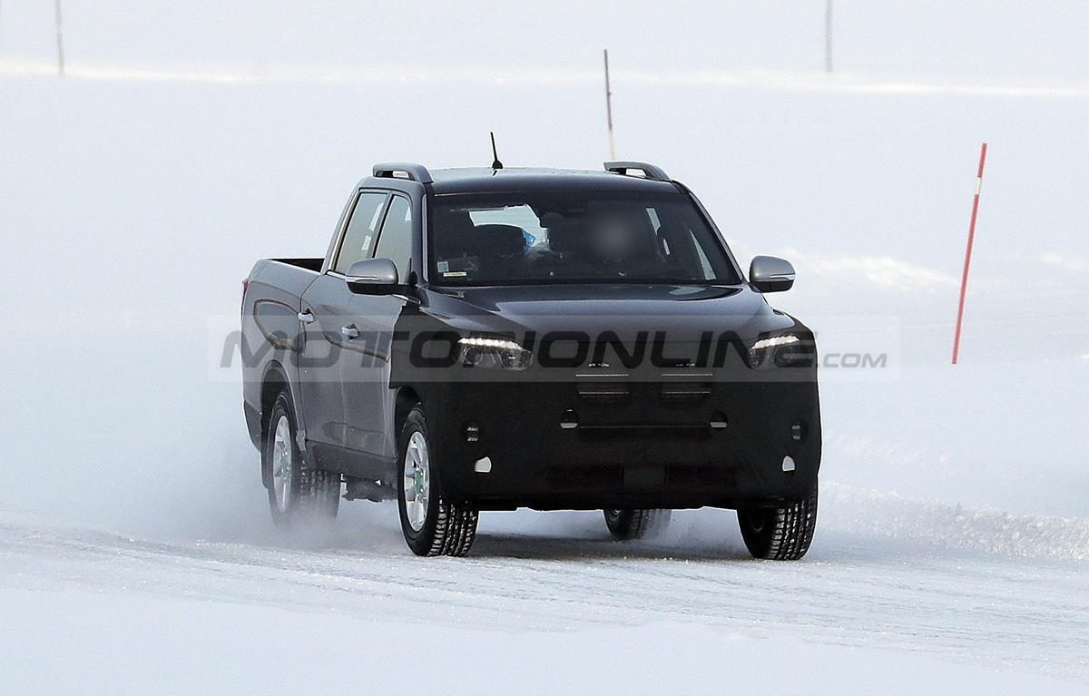 SsangYong Musso 2022 - Foto spia 17-03-2021