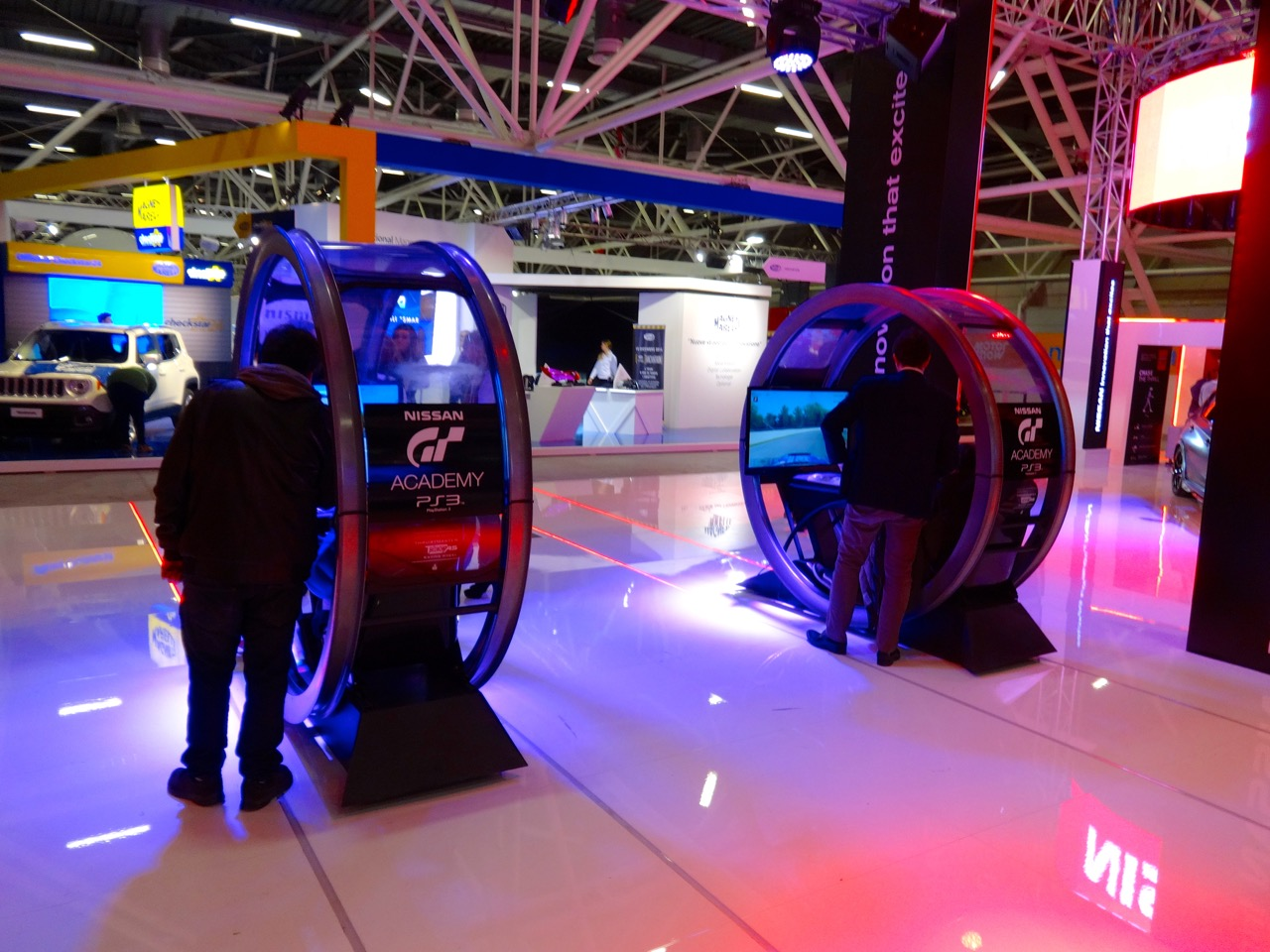 Stand Nissan - Motor Show 2014