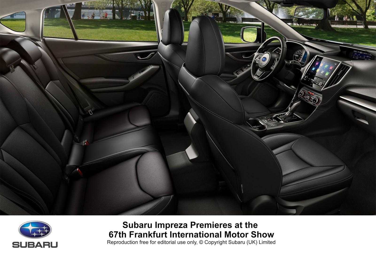 Subaru Impreza MY 2018