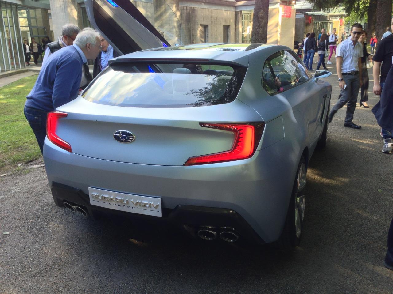 Subaru Viziv Concept - Villa Este 2013