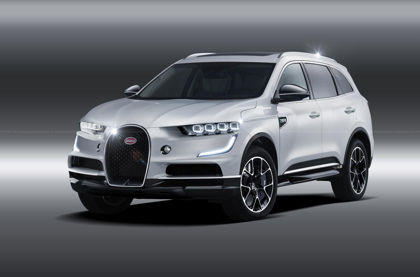 SUV Bugatti - Rendering