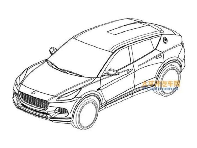 SUV Lotus - Disegni brevetti