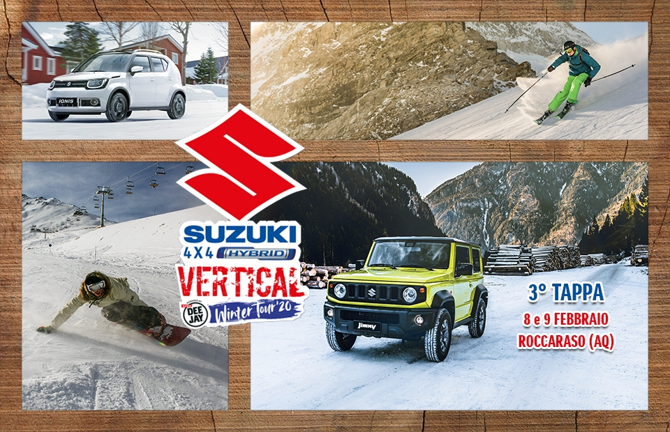Suzuki 4x4 Hybrid Vertical Winter Tour 2020