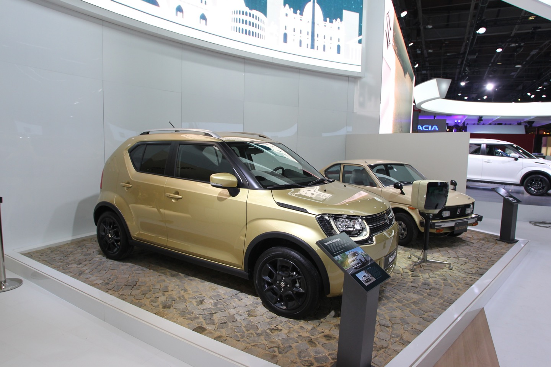 Suzuki Ignis - Salone di Parigi 2016