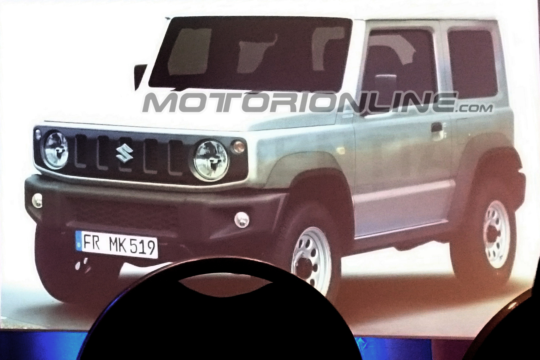Suzuki Jimny foto leaked 23 Agosto 2017