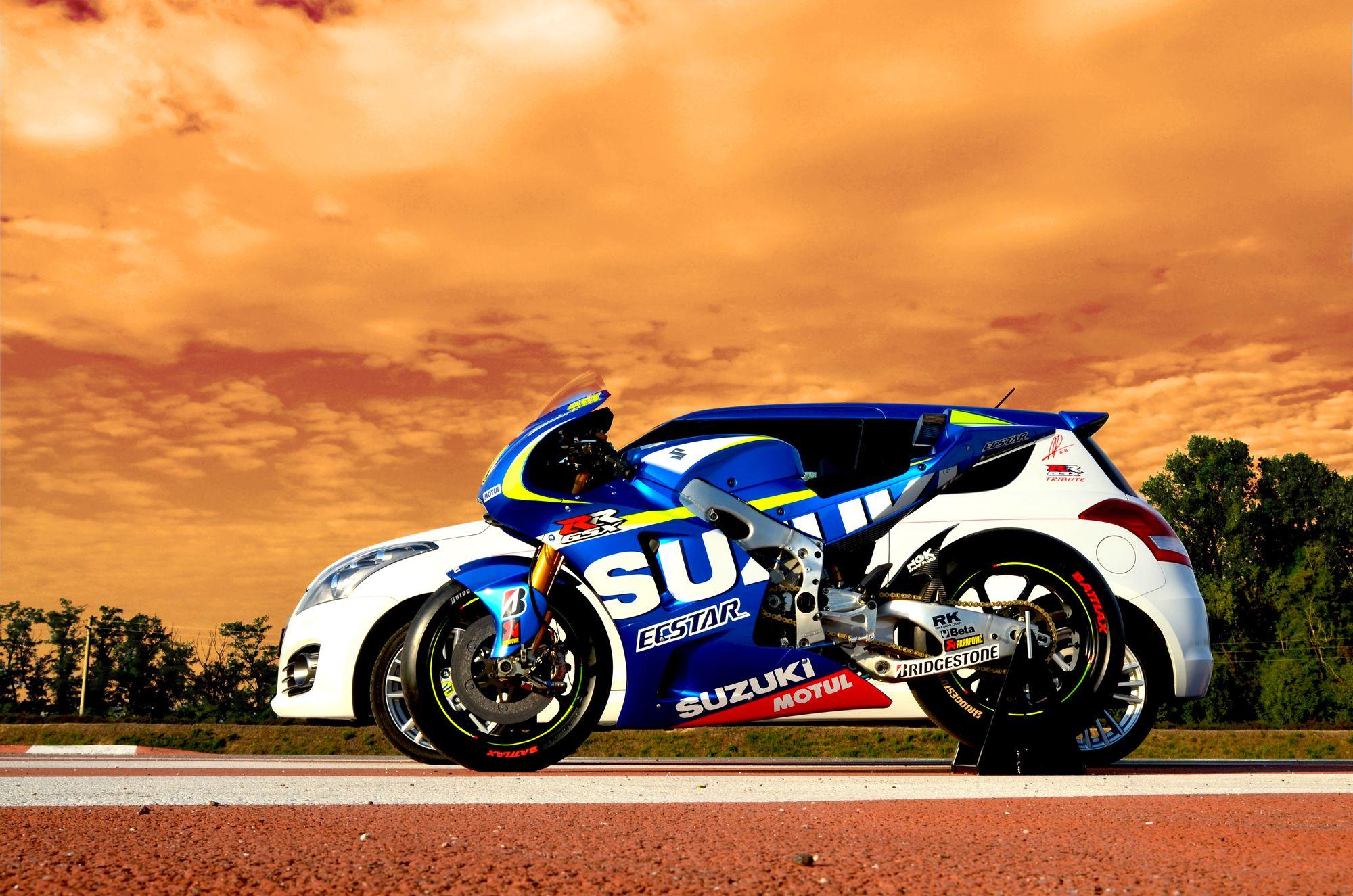 Suzuki Swift GSX-RR Tribute