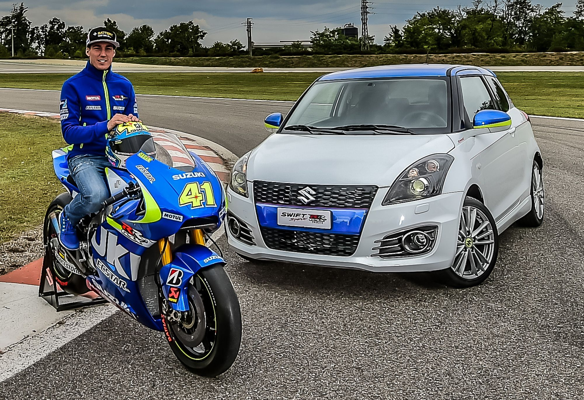 Suzuki Swift GSX-RR Tribute
