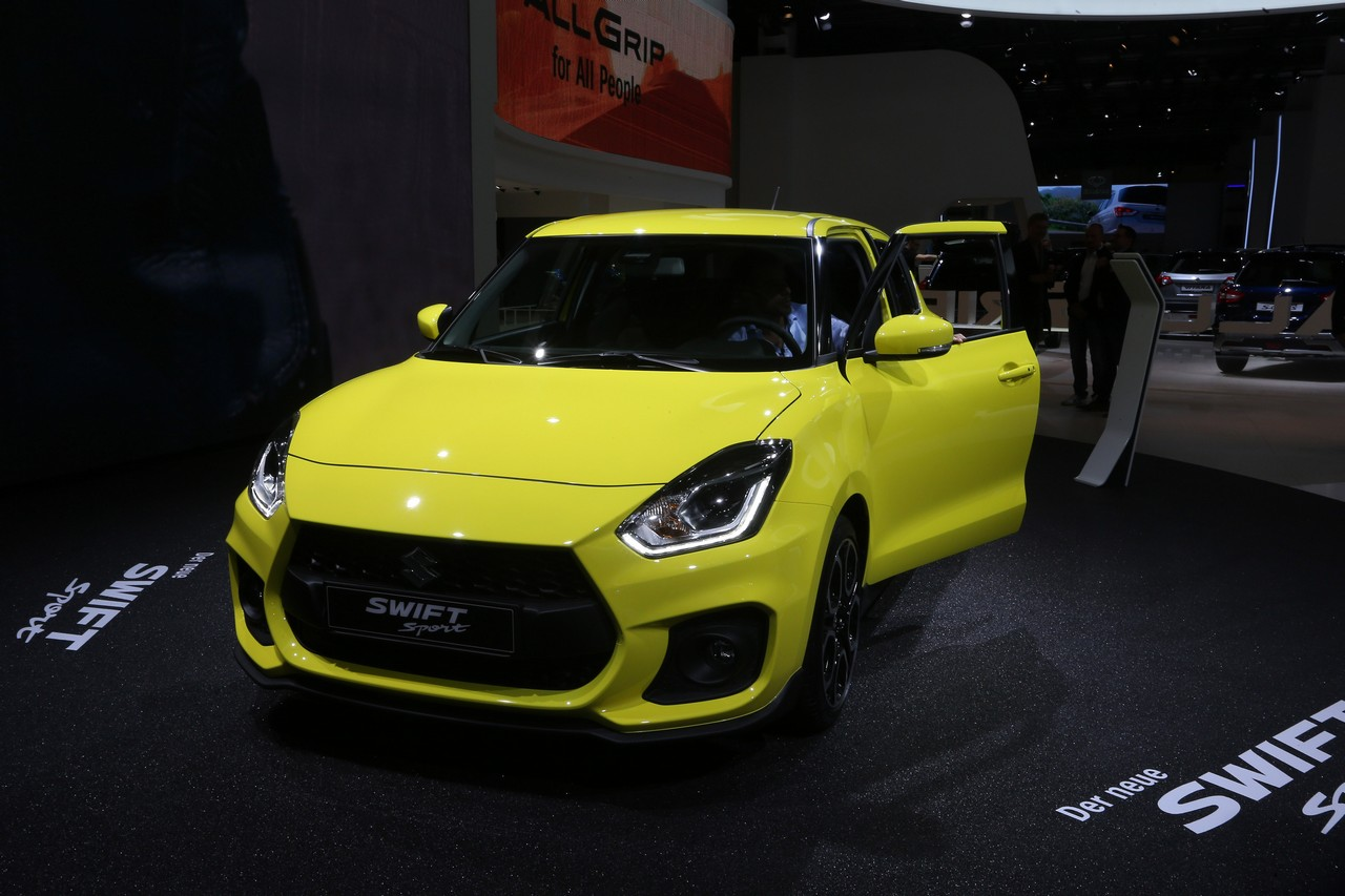 Suzuki Swift Sport - Salone di Francoforte 2017