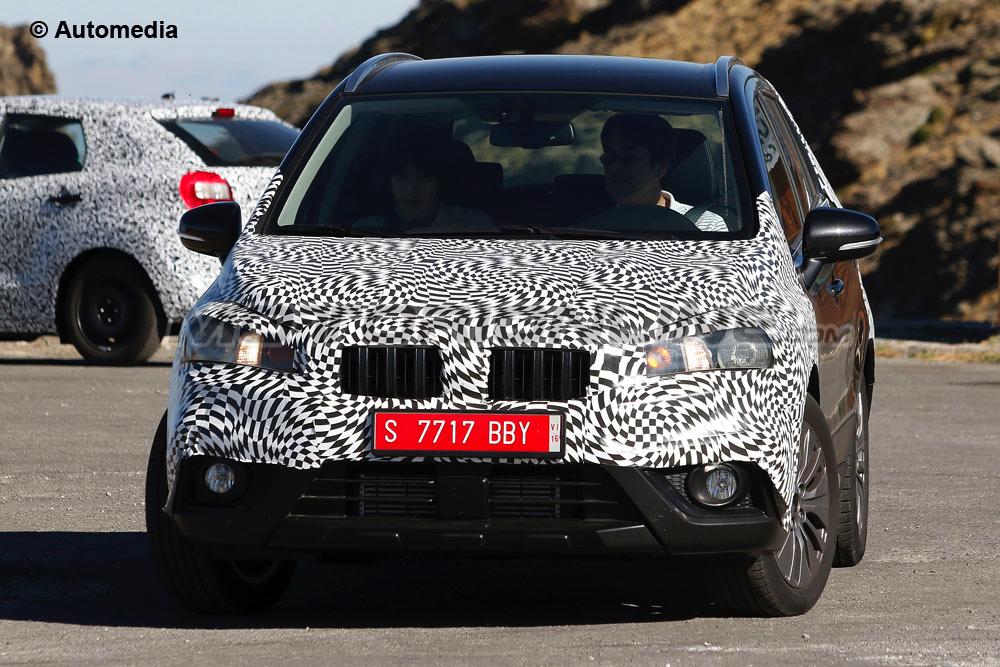 Suzuki SX4 S-Cross Facelift - Foto 01-09-2015