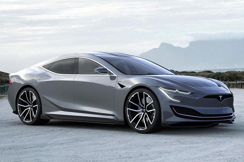 Tesla Model S 2021 - Rendering