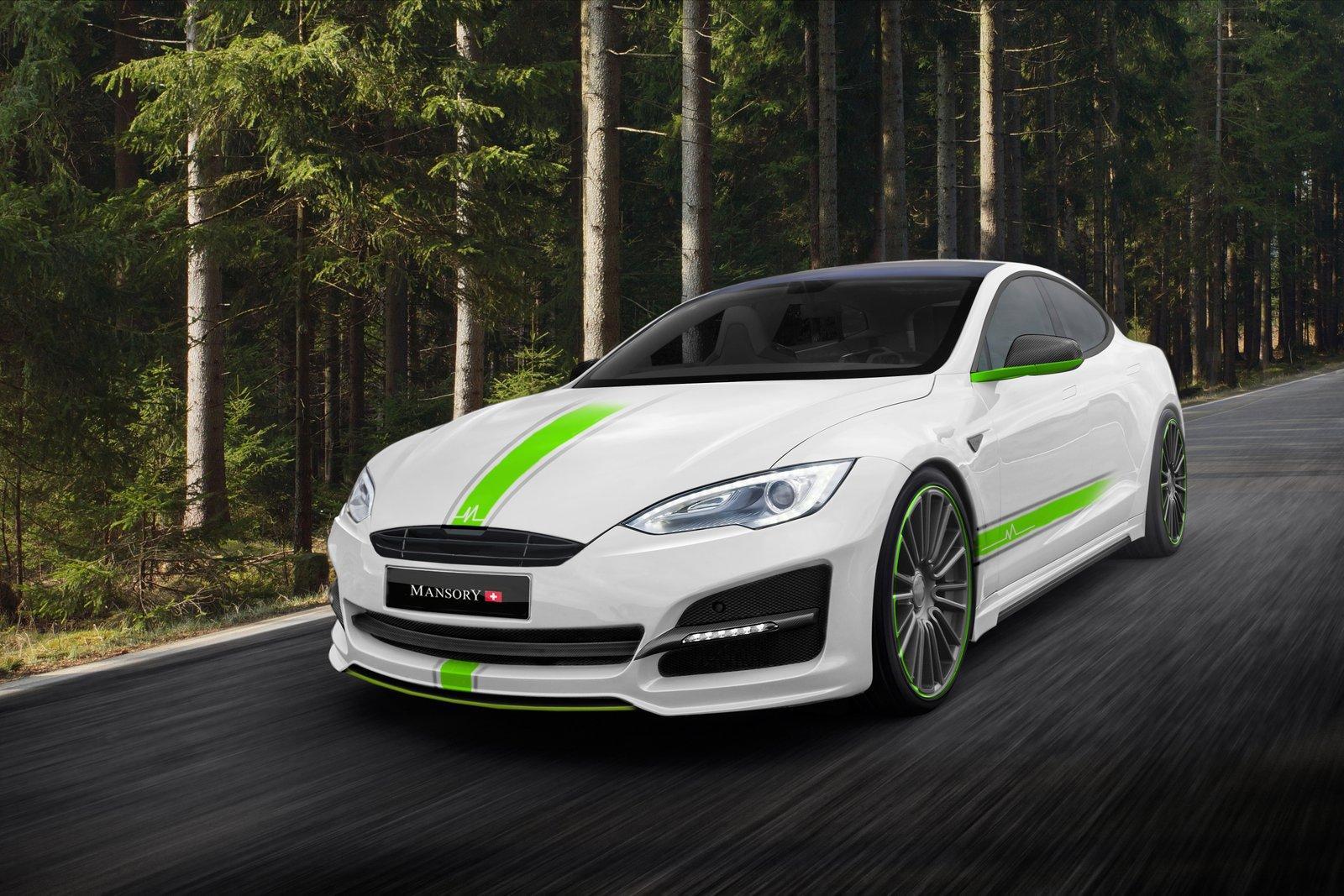 Tesla Model S by Mansory