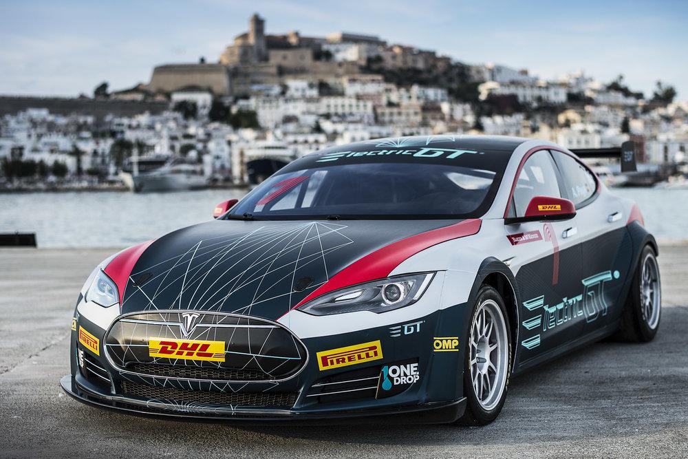 Tesla Model S - Electric GT Championship