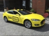 Tesla Model S Yandex Taxi