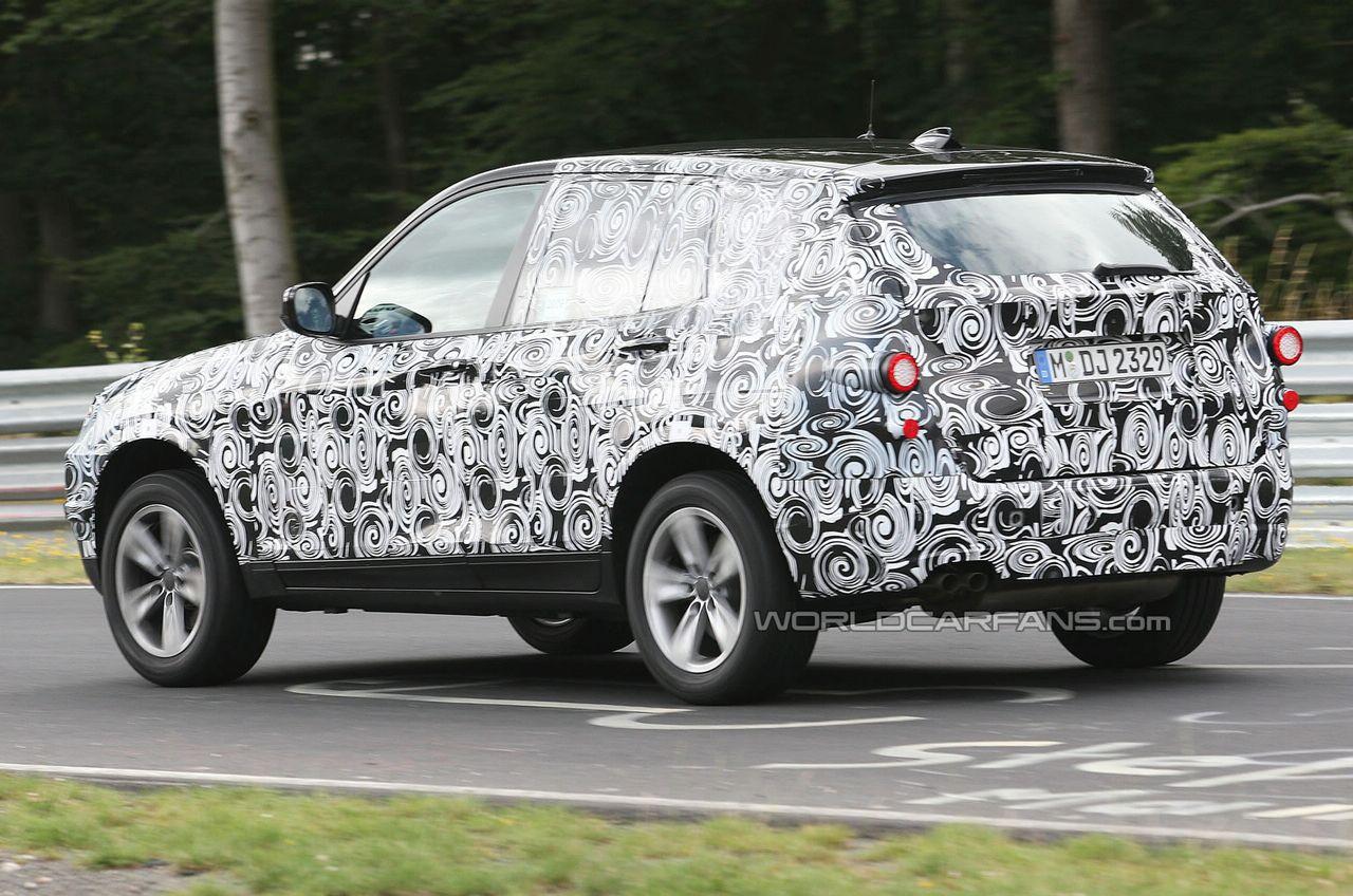 Test della nuova BMW X3 sul Nurburgring