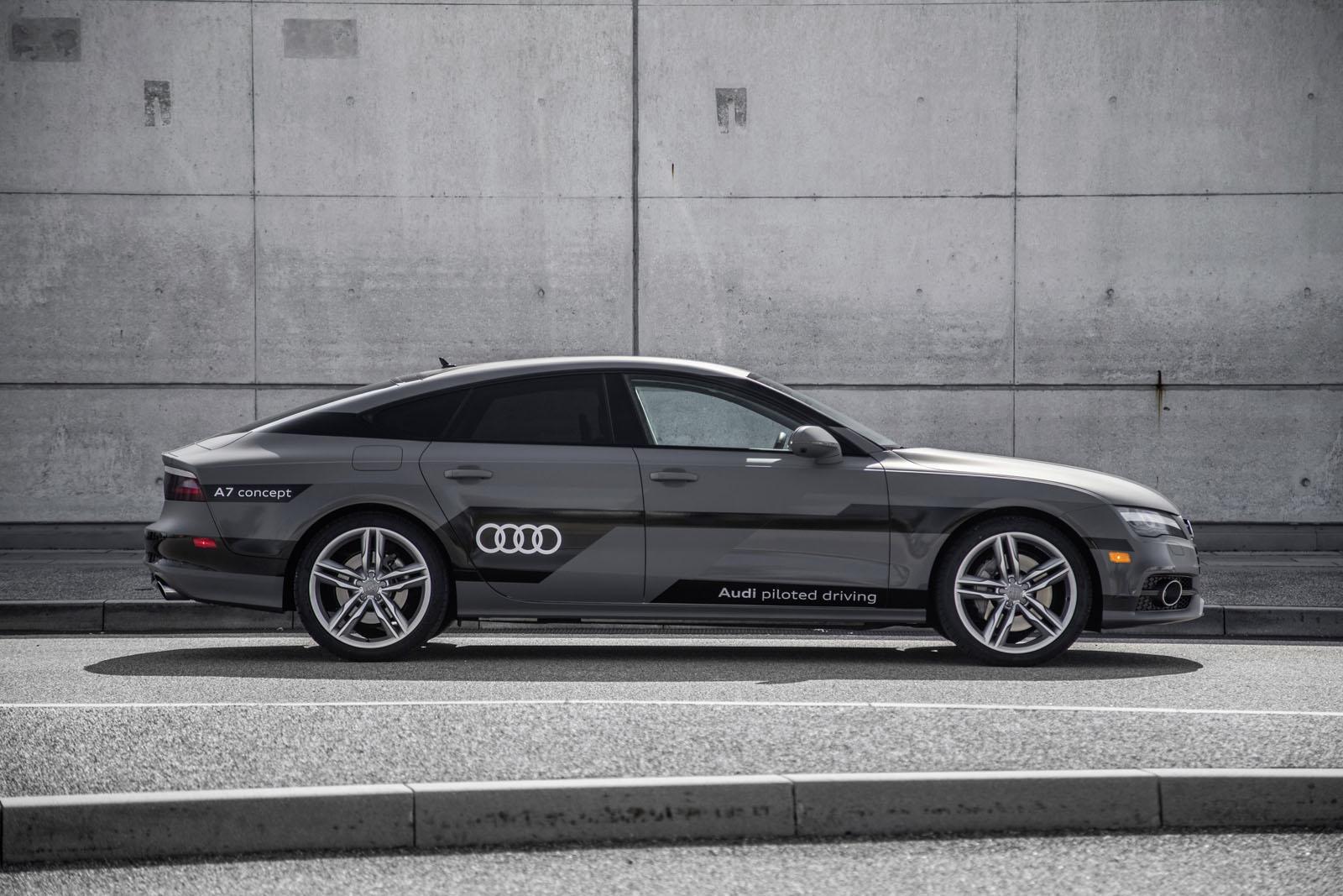 Test Drive Nuova Audi A - Audi a 9