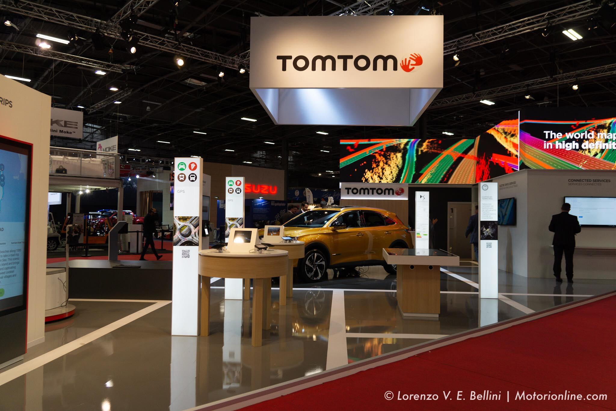 TomTom - Salone di Parigi 2018