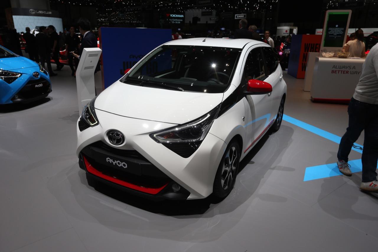 Toyota Aygo - Salone di Ginevra 2018