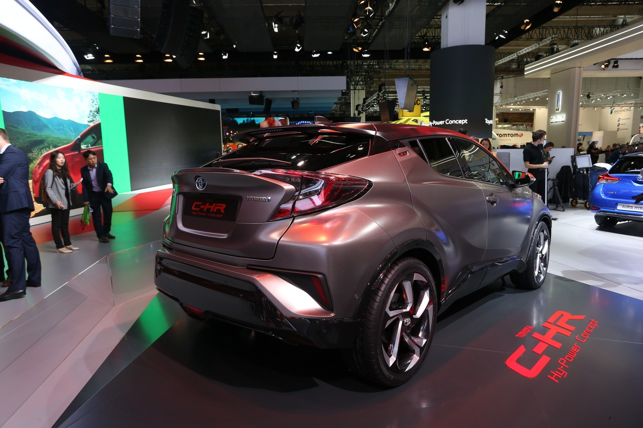 Toyota C-HR Hy Power Concept - Salone di Francoforte 2017