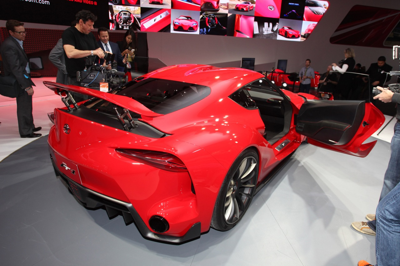 Toyota ft1 release date