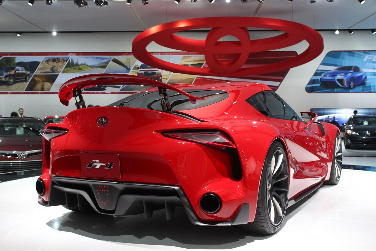 Toyota FT1 - Salone di Detroit 2014