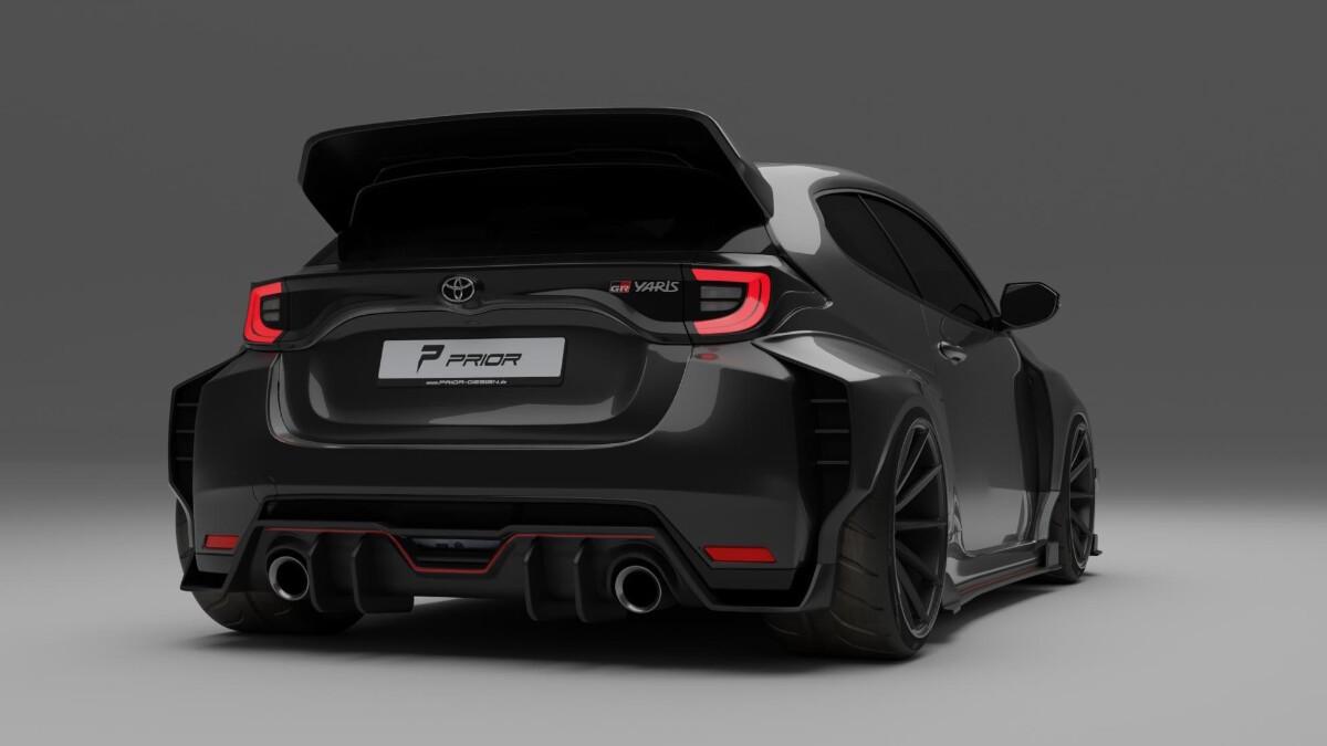 Toyota GR Yaris - Tuning Prior Design - Render