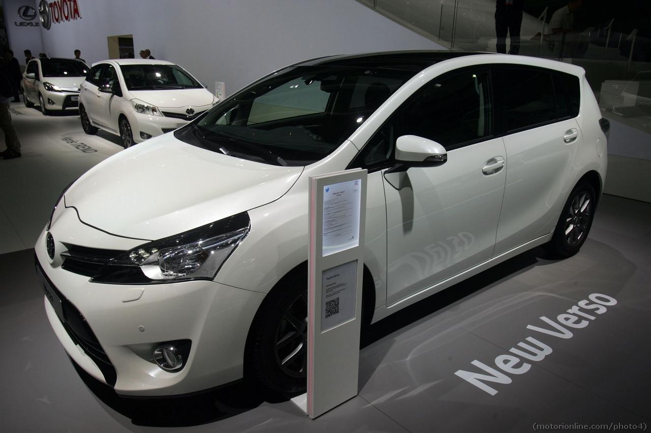 Toyota Verso - Salone di Parigi 2012