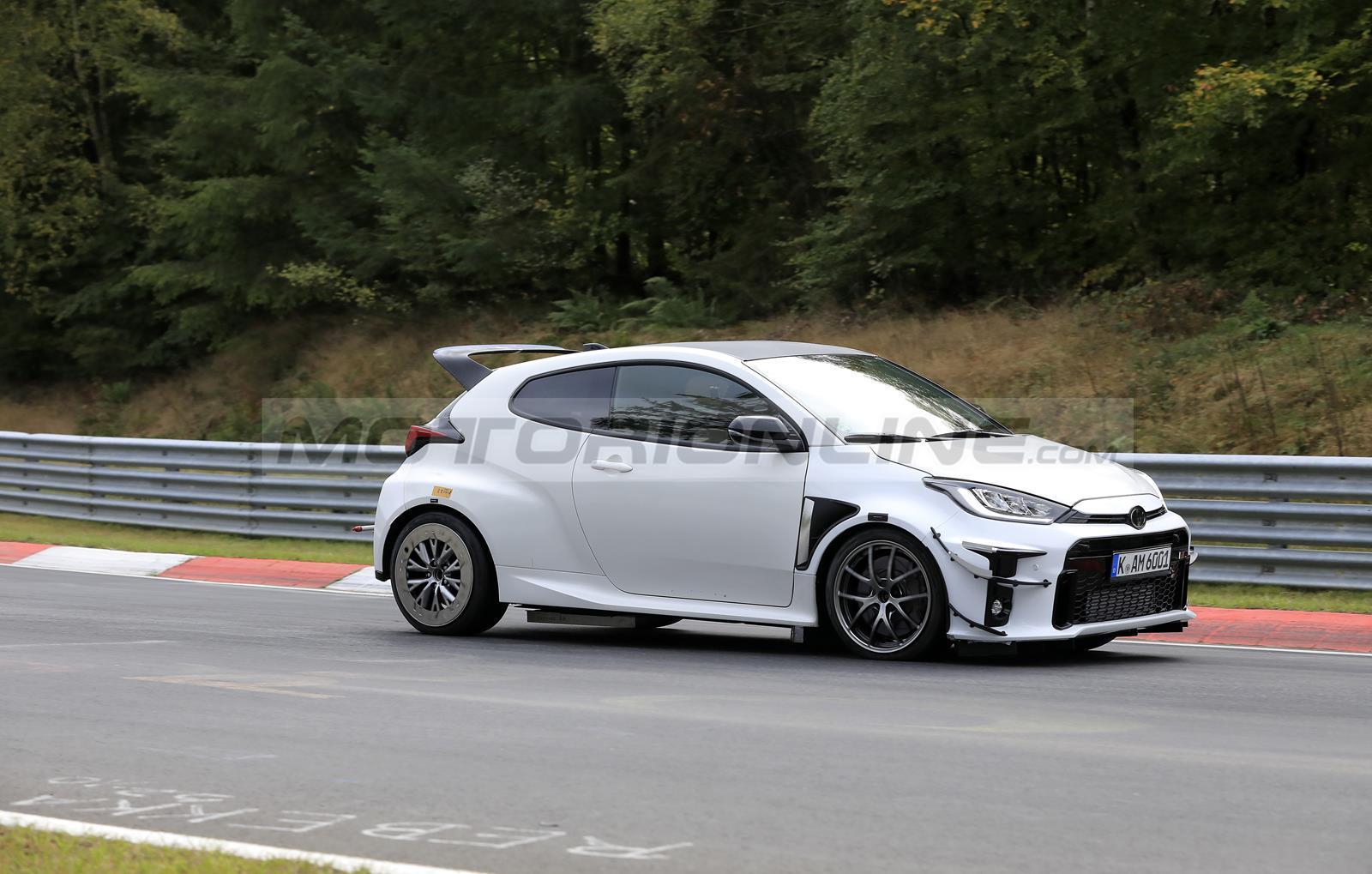 Toyota Yaris GR estrema - Foto spia 19-10-2020
