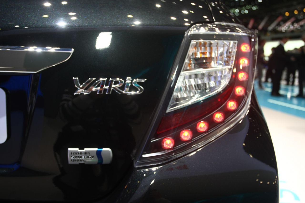 Toyota Yaris Hybrid - Salone di Ginevra 2012