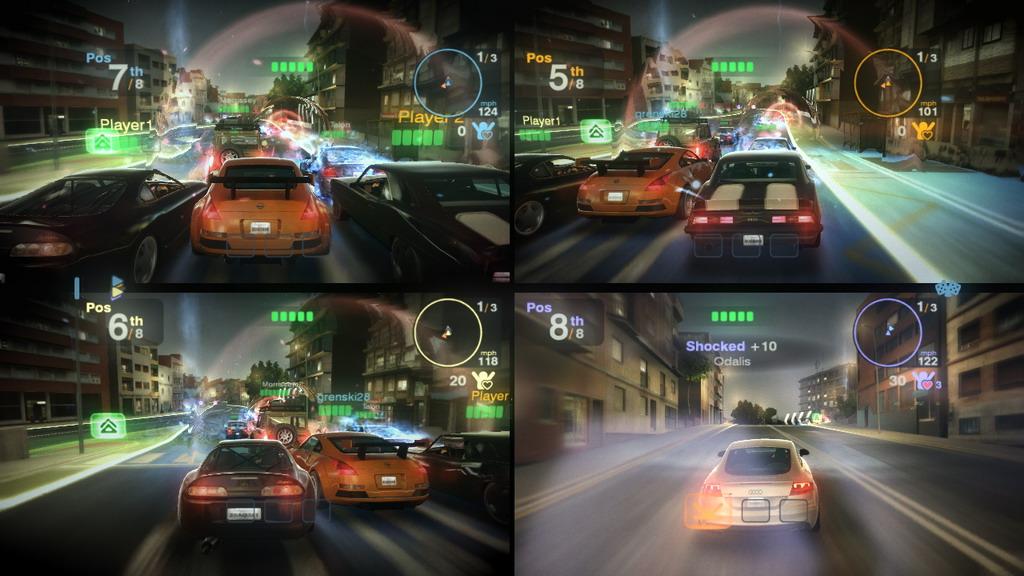 Videogame: Blur