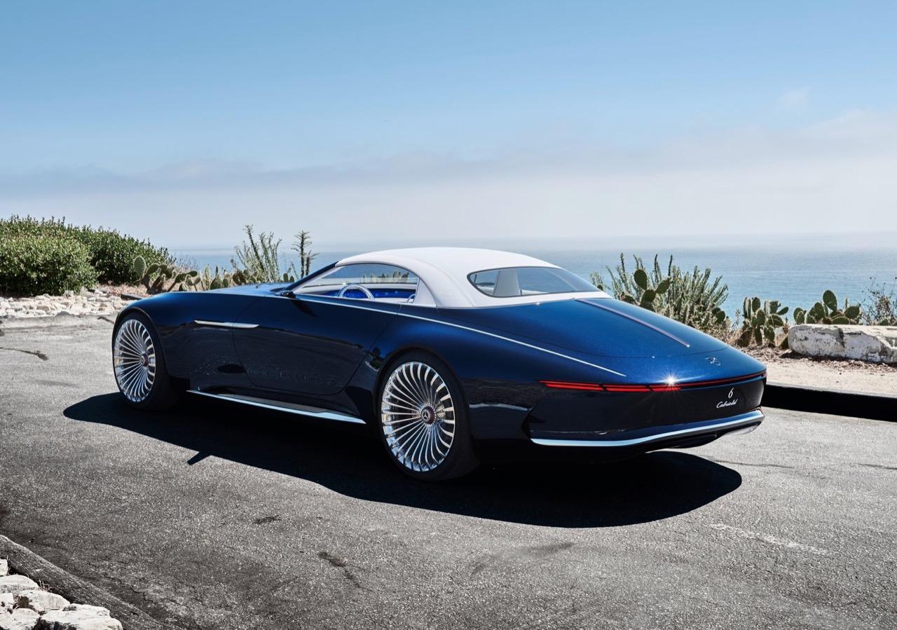 vision mercedes maybach 6 cabriolet 5 18. Black Bedroom Furniture Sets. Home Design Ideas