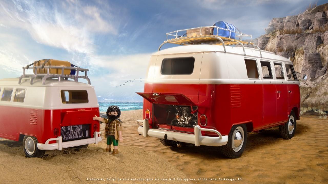 Volkswagen Bulli Playmobil