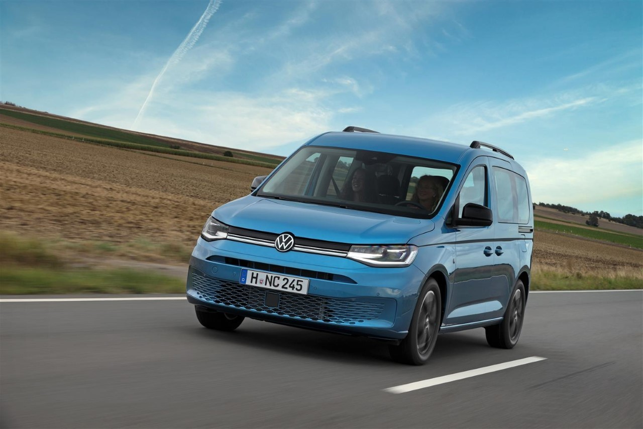 Volkswagen Caddy California - Foto ufficiali