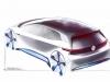 Volkswagen - Concept car elettrica - Sketch design