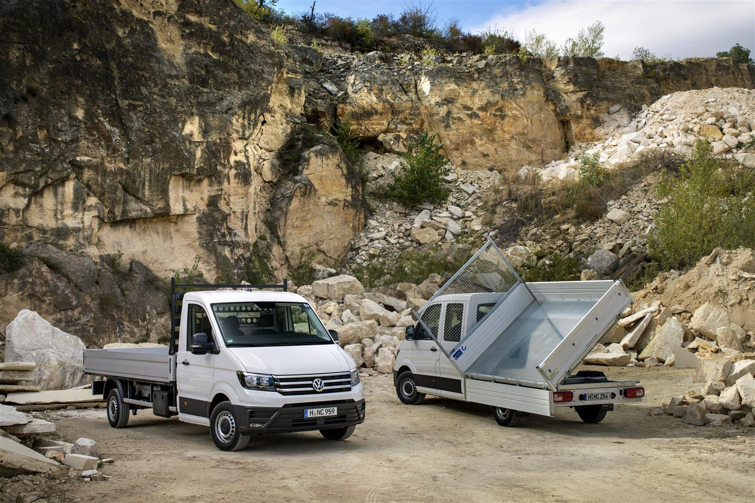volkswagen crafter my 2018 foto 5 di 10. Black Bedroom Furniture Sets. Home Design Ideas