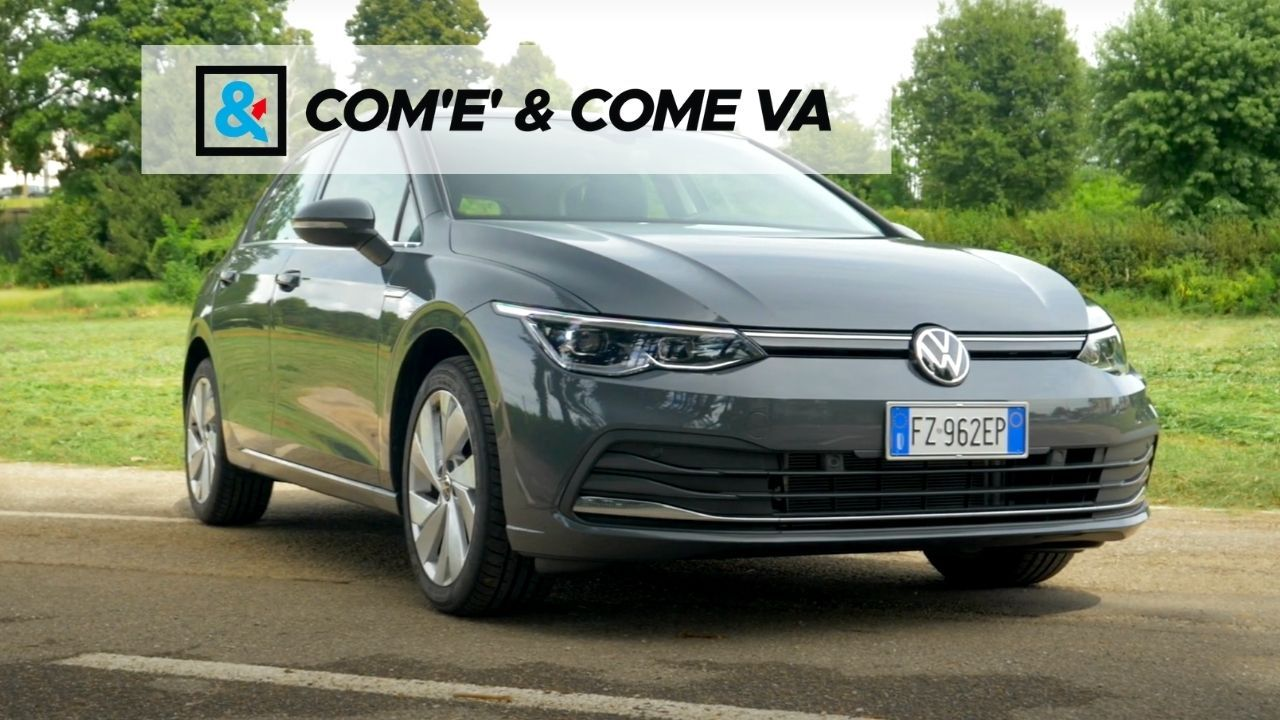 Volkswagen Golf 8 2020 - Come Va