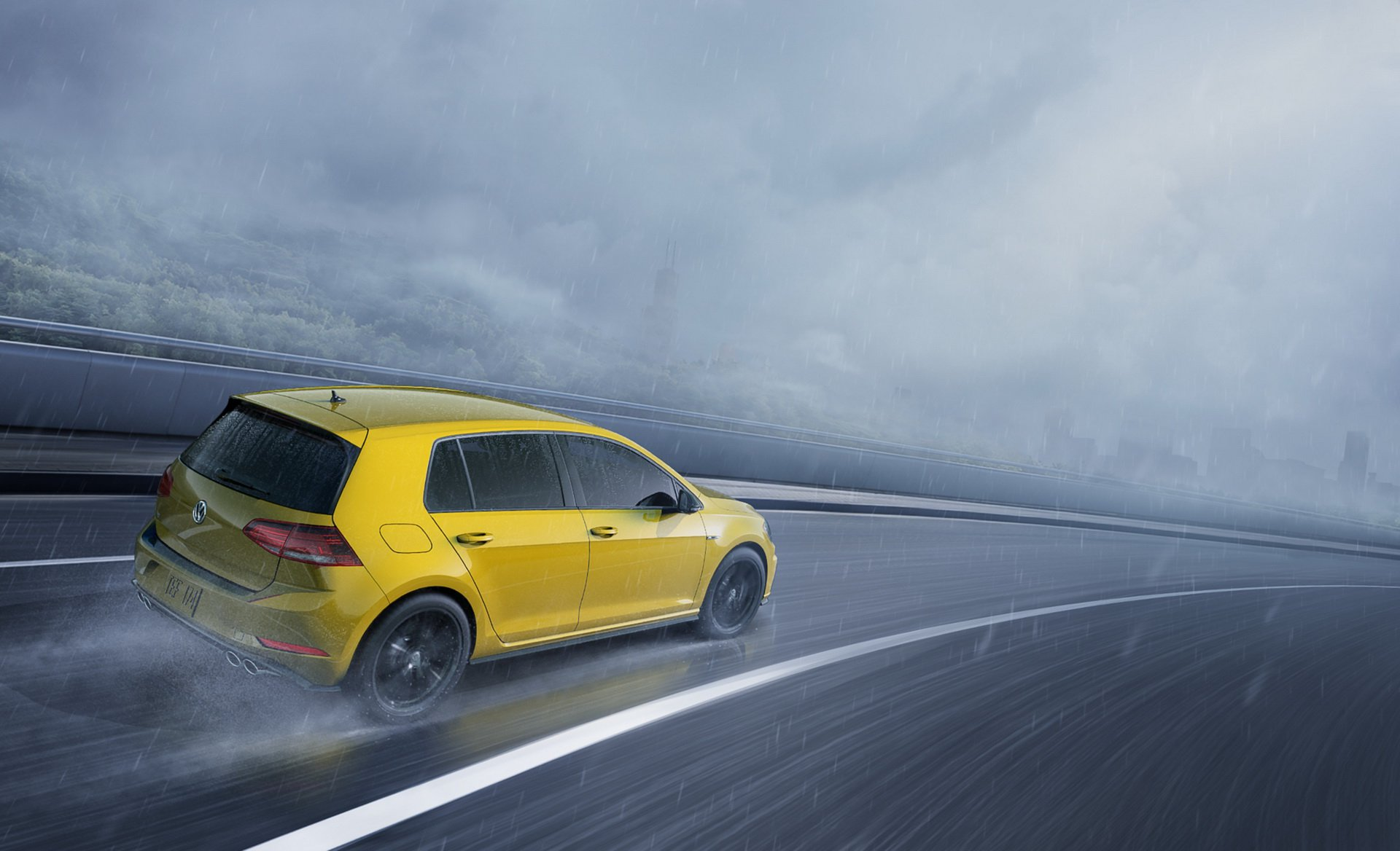 Volkswagen Golf R - Spektrum Program