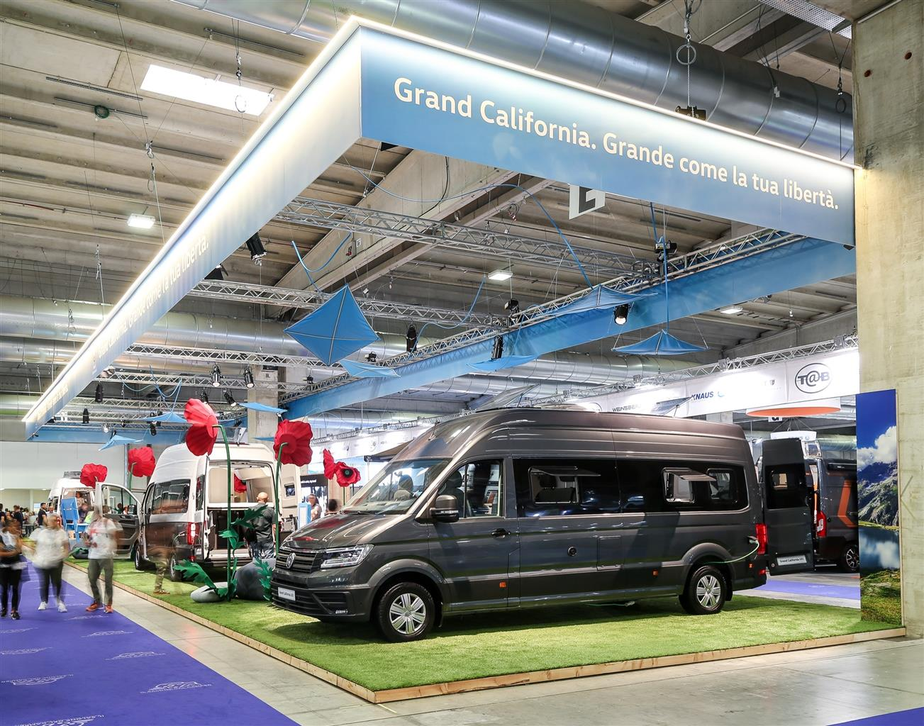 Volkswagen Grand California - Salone del Camper 2019