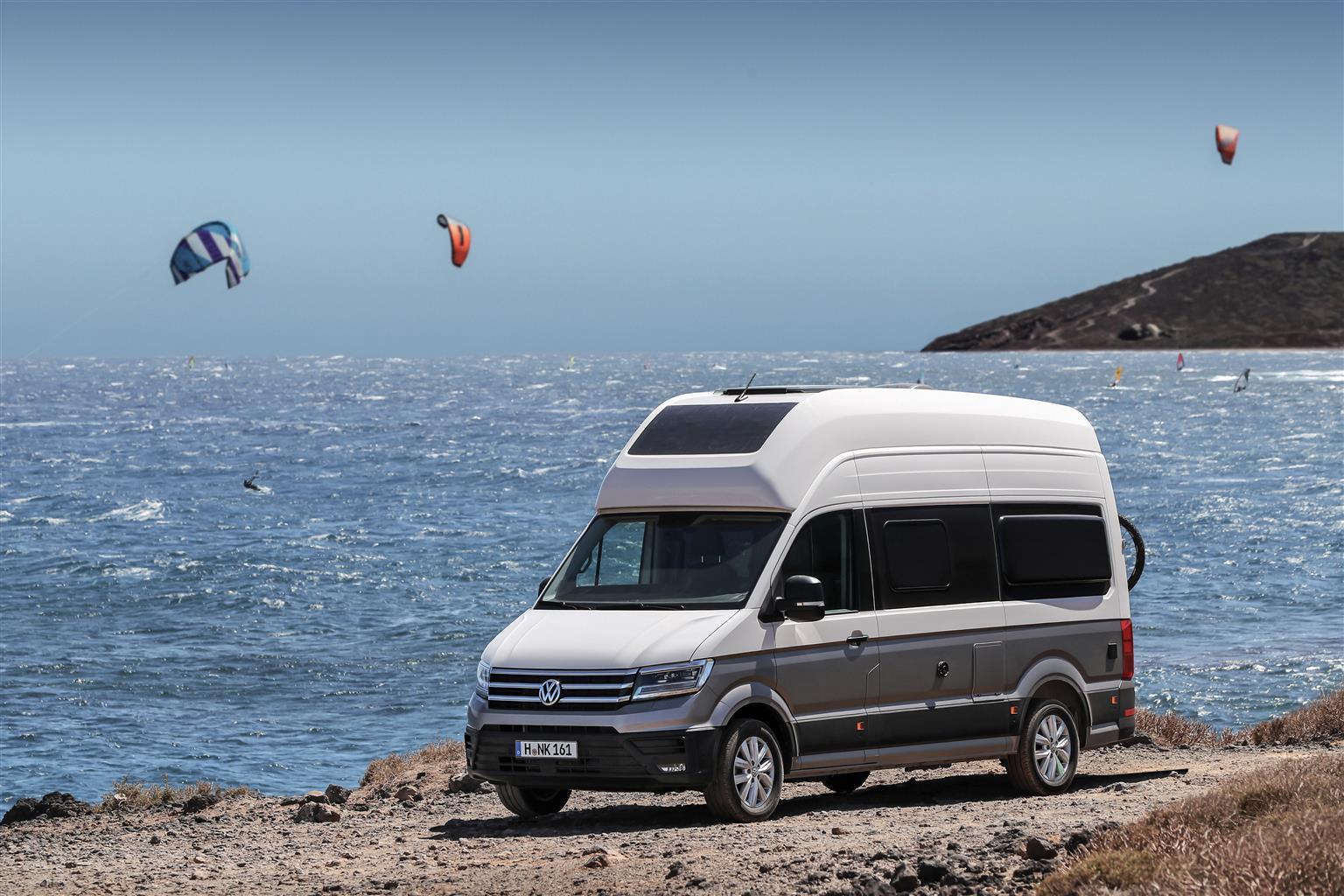 Volkswagen Grand California - Salone del Camper 2019