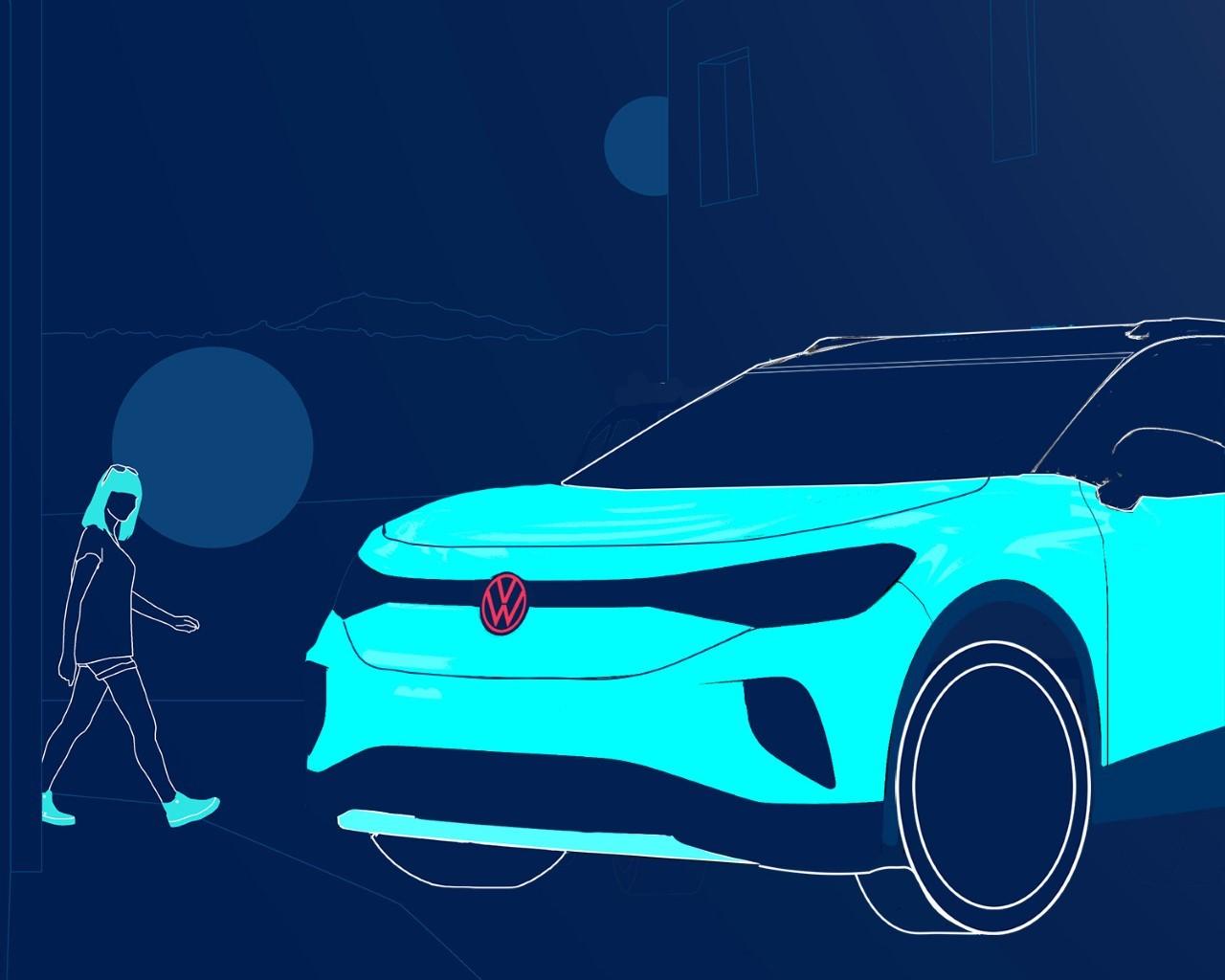 Volkswagen ID 4 - Teaser 19-8-2020