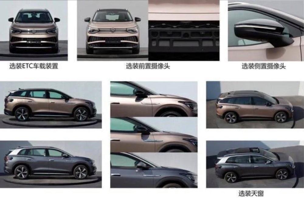 Volkswagen ID.6 - Foto leaked