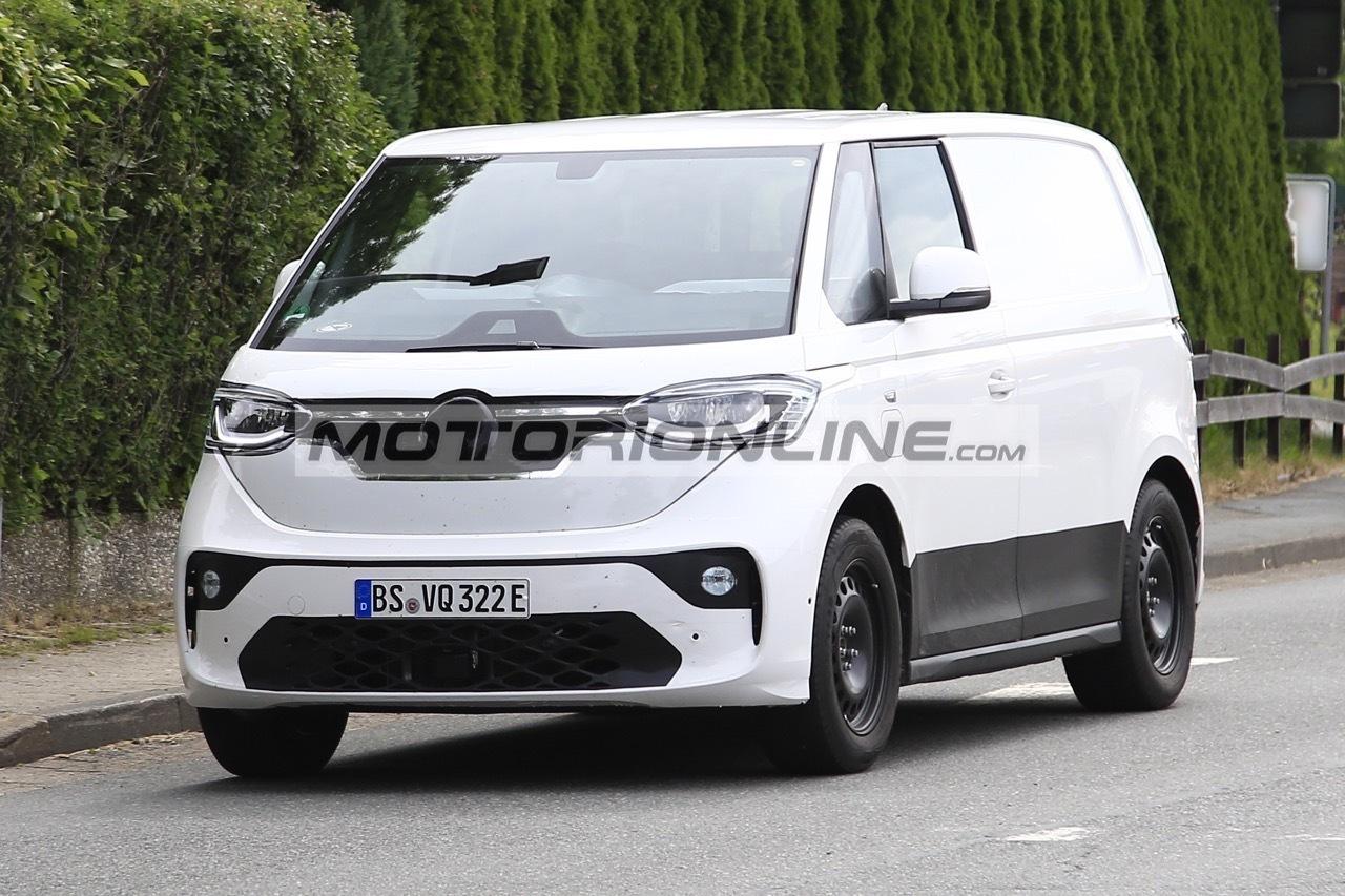 Volkswagen ID Buzz Cargo - Foto spia 28-6-2021