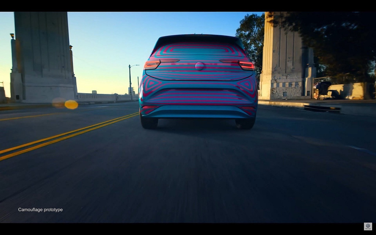 Volkswagen ID Hatchback - Foto leaked