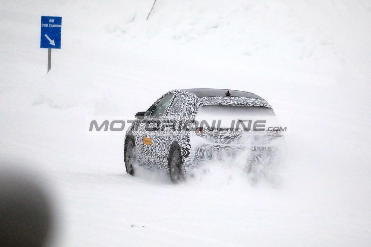 Volkswagen ID Neo - Foto spia 11-2-2019