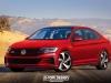 Volkswagen Jetta MY 2019 GTI, R e Sportwagon - Rendering