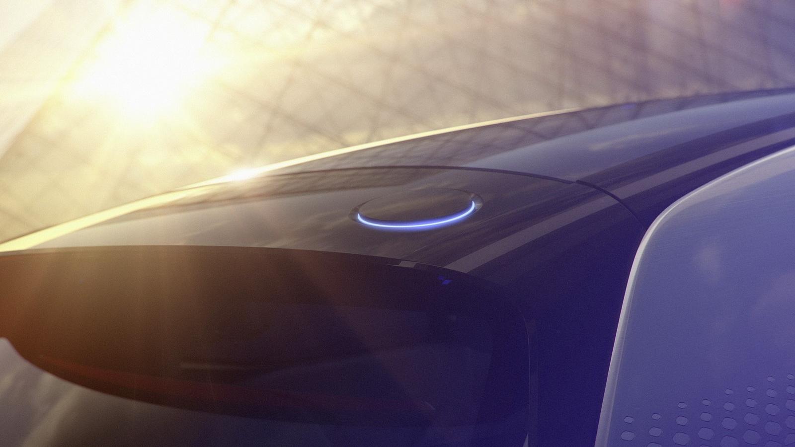 Volkswagen - nuova concept car elettrica al Salone di Parigi 2016 (foto teaser)